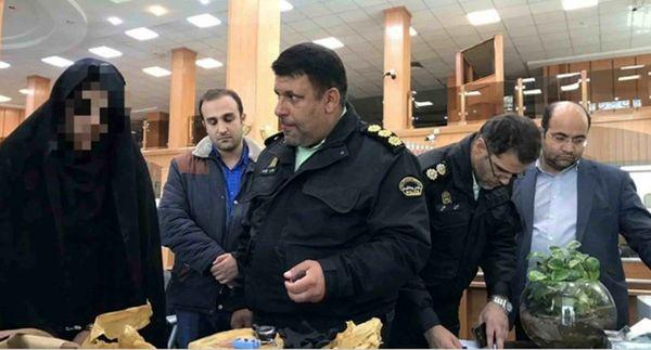 یک زن عامل تهدید به بمبگذاری در فرمانیه تهران بود + تصاویر و جزئیات