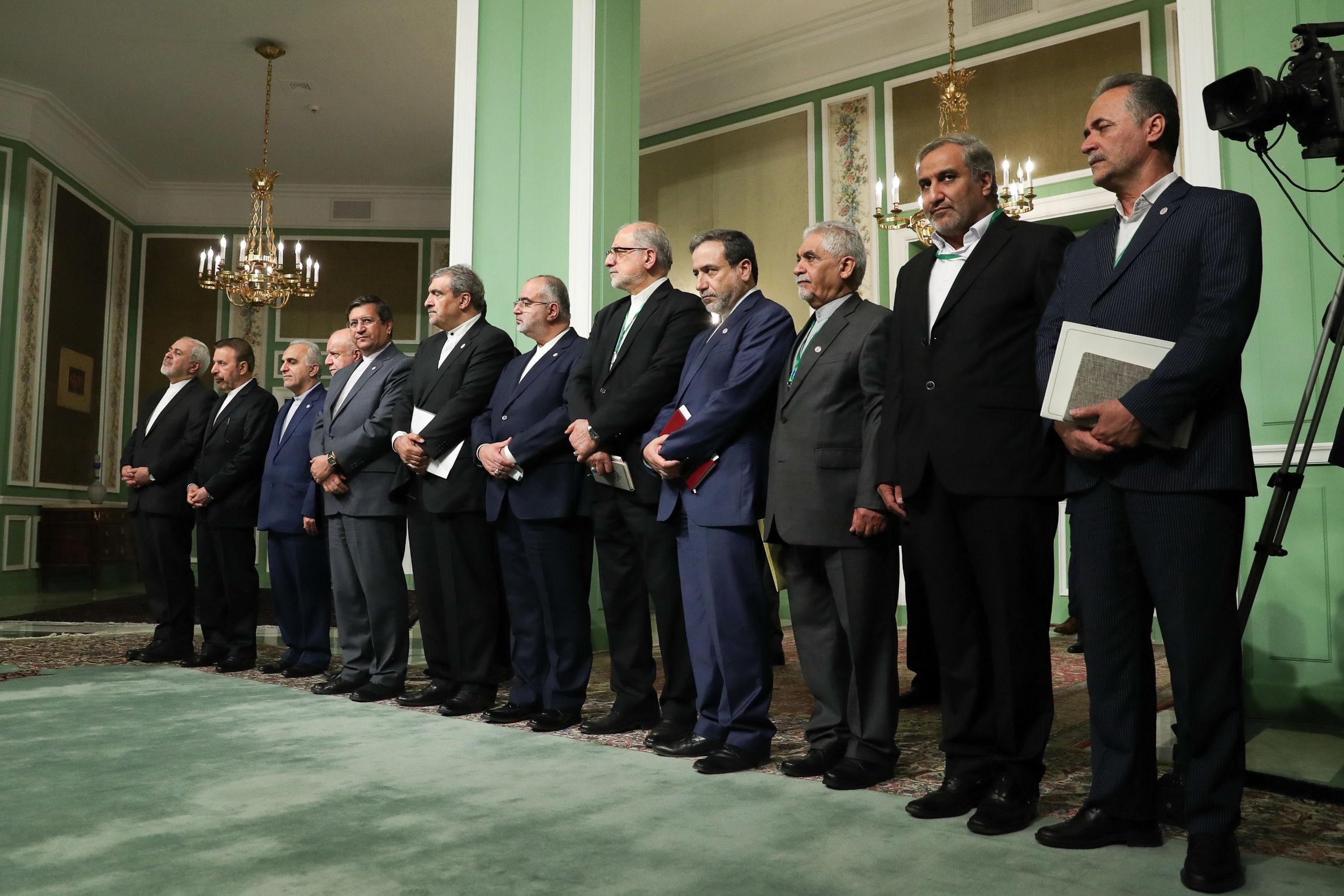 گزارش تصویری/ کنفرانس مطبوعاتی مشترک با نخستوزیر ژاپن
