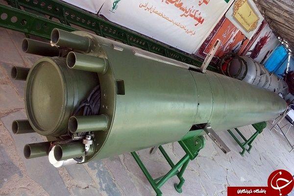 موشکی که قاتل متجاوزان به مرزهای ایران است+ عکس