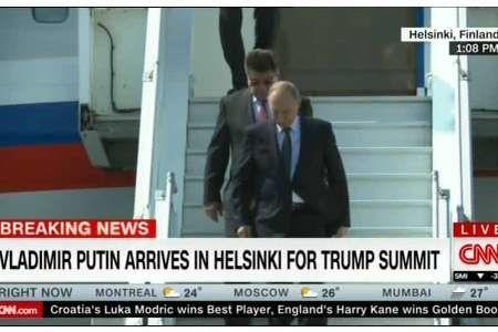 پوتین برای دیدار با ترامپ وارد فنلاند شد