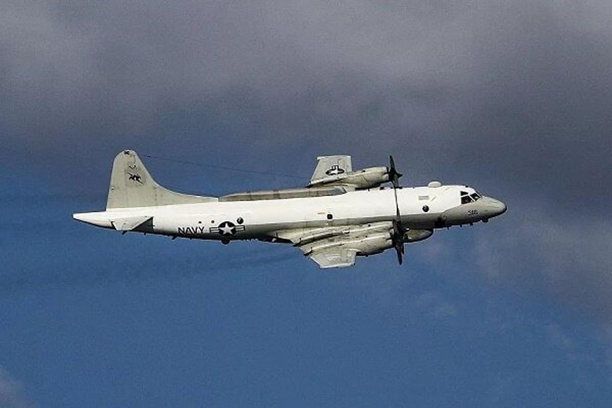 تعقیب هواپیمای نظامی آمریکا در دریای سیاه