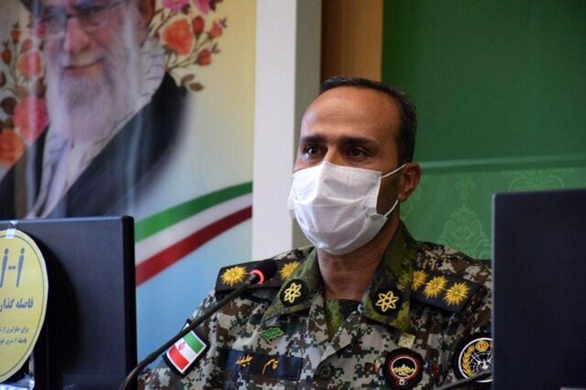 درگذشت یک فرمانده ارتش به علت ابتلا به کرونا