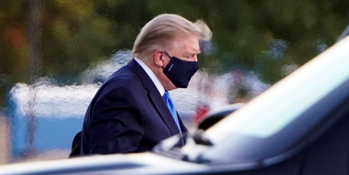 ترامپ با مشکل تنفسی در بیمارستان نظامی بستری شد