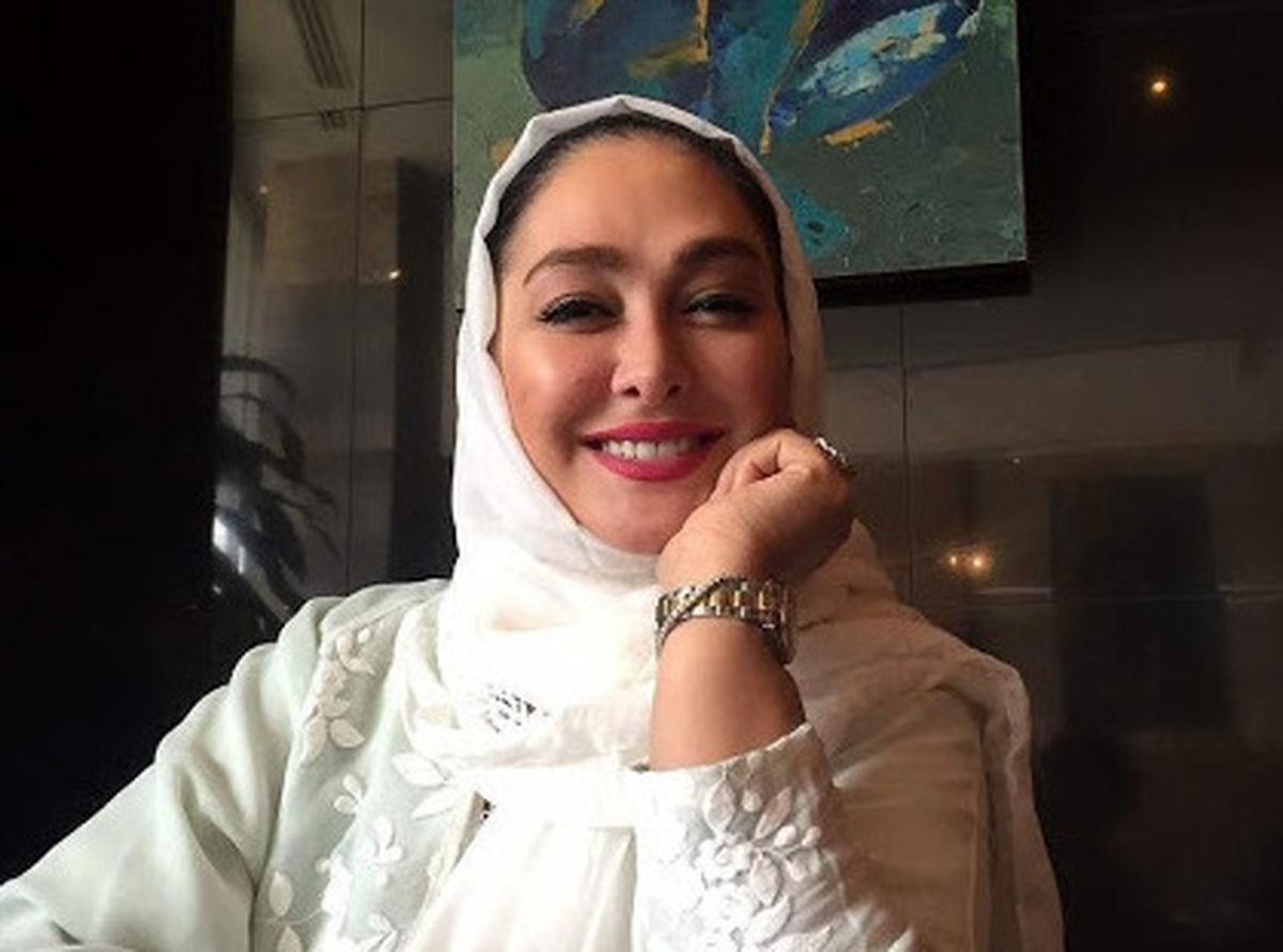 منزل فوق لاکچری الهام حمیدی سوژه شد +عکس الهام حمیدی و همسر و فرزندش