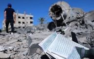 سه مسجد در غزه ویران شد