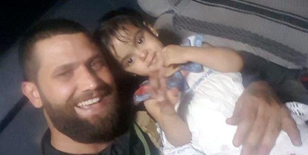 عکس دختر عراقی که از چنگال تجاوزگران داعش بیرون کشیده شد + جزئیات