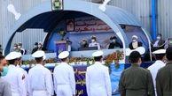 استقبال فرمانده ارتش از دریادلان عزت آفرین ایران