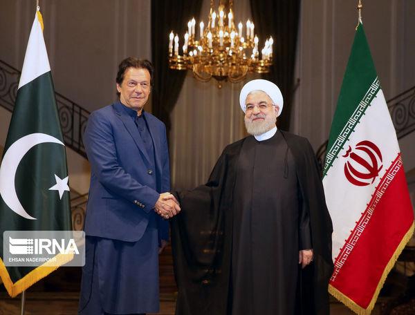 گزارش تصویری/ استقبال رسمی روحانی از عمران خان