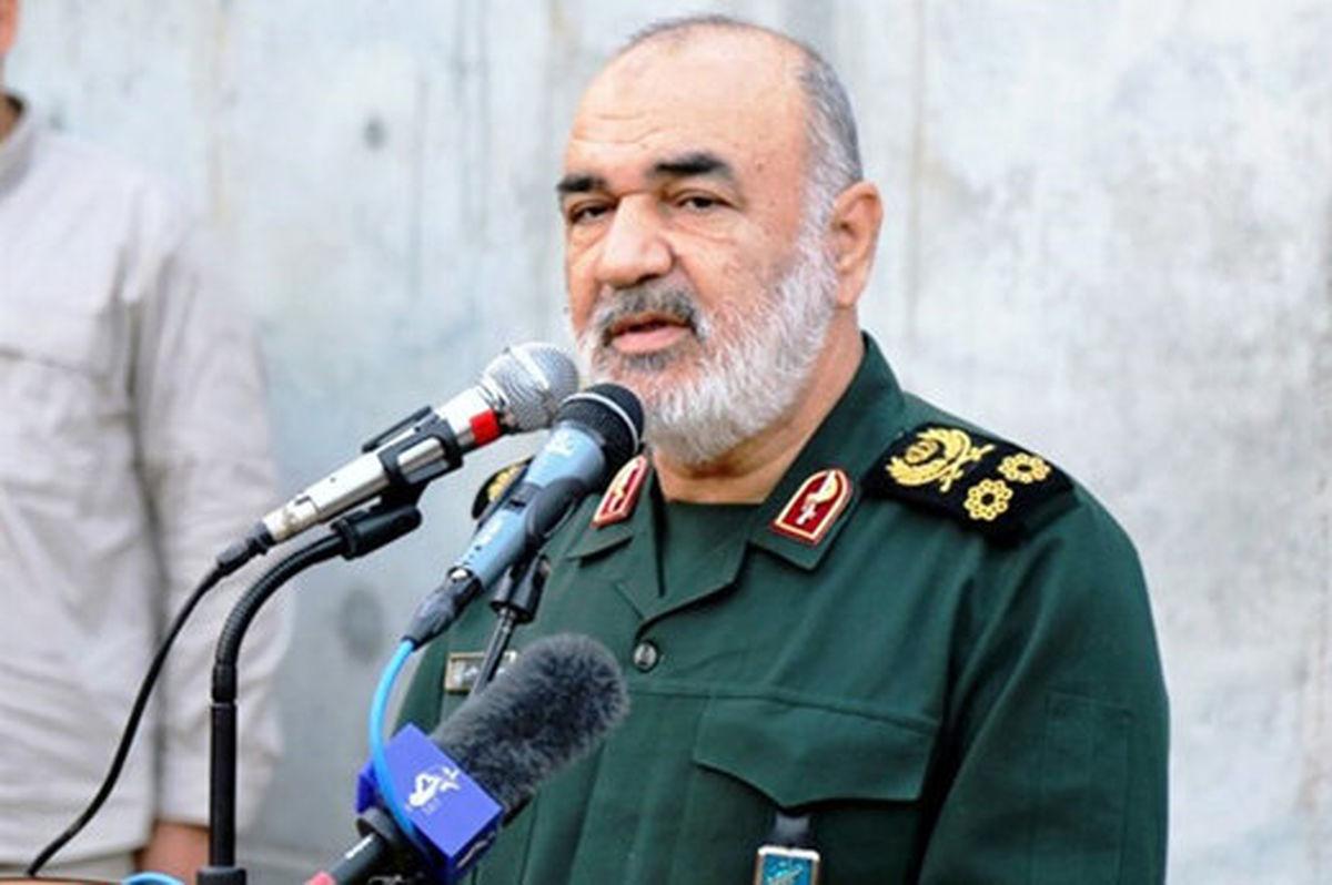 اولین واکنش فرمانده کل سپاه به سخنان محرمانه ظریف