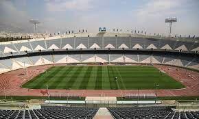 جام جهانی در ورزشگاه آزادی در یک نمایشگر بزرگ به مساحت 1200 متر مربع پخش میشود