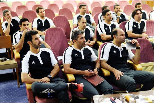 گزارشگر پرسپولیسی در کلاس مربیگری A  فوتبال