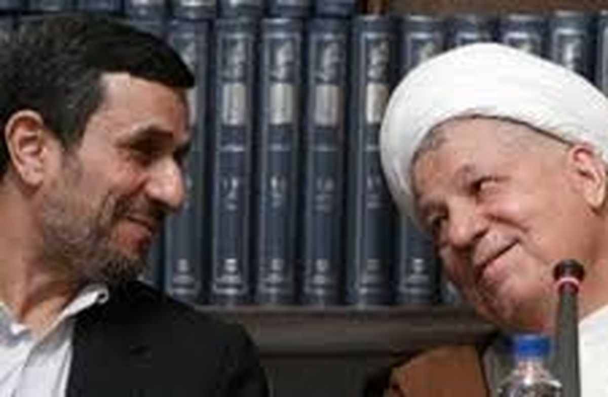 جزئیات دیدار احمدی نژاد با هاشمی رفسنجانی در سال 76