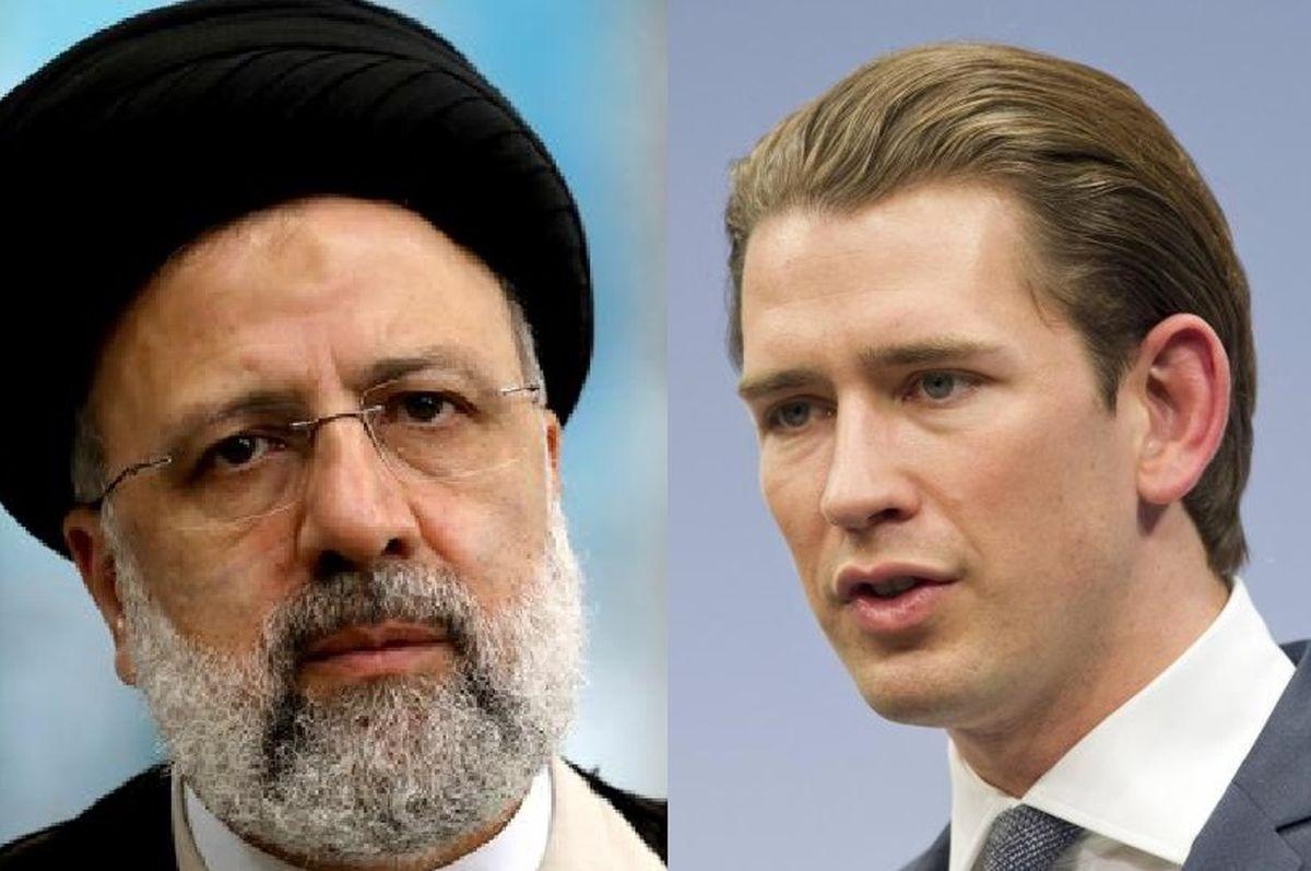 توافق رئیسی با صدراعظم اتریش بر سر مسئله افغانستان