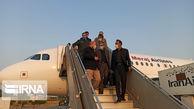 سفر رئیسمجلس به سرزمین گنجهای پنهان؛ قالیباف وارد فرودگاه کنارک شد