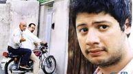 سلفی جالب علی صادقی با شاطر و تنور نان سنگک