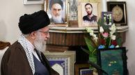 گزارش تصویری/ حضور رهبر انقلاب در منزل شهید محمدحسین حدادیان