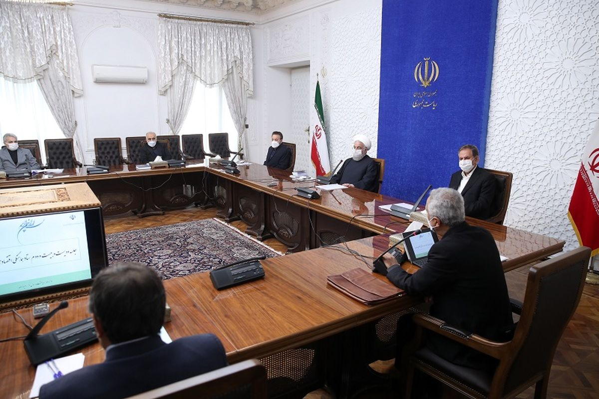 روحانی: میتوان امیدوار بود که اقتصاد کشور به سال های 93 تا 96 بازگردد