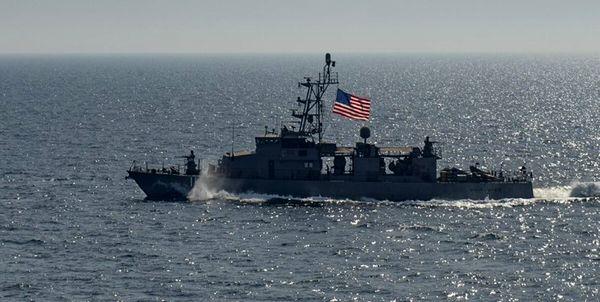 ناو آمریکایی در مسیر تردد کشتی های ایرانی به ونزوئلا مستقر شد