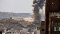 حمله جنگندههای ائتلاف سعودی به صنعاء