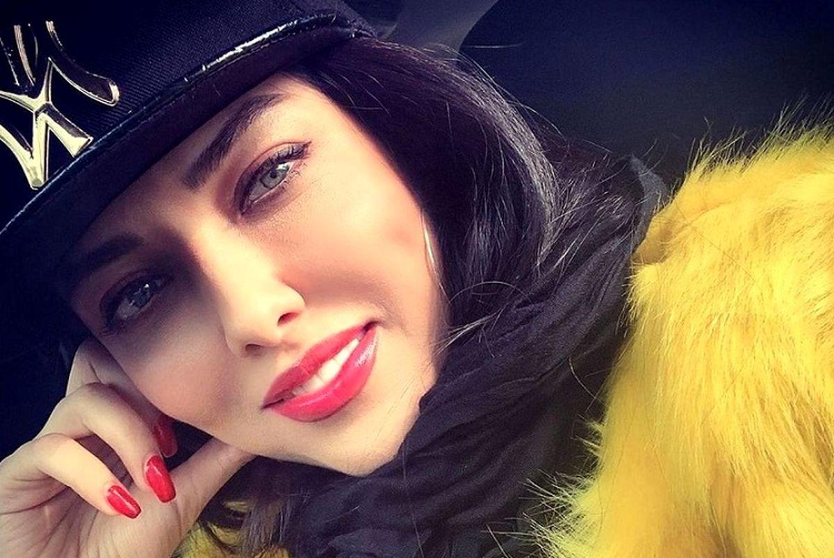 احسان کرمی ، لیلا اوتادی را در خواب غافلگیر کرد + تصویر