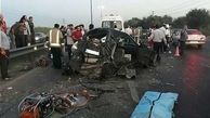 تصادف زنجیره ای در البرز مرگ یک نفر را رقم زد