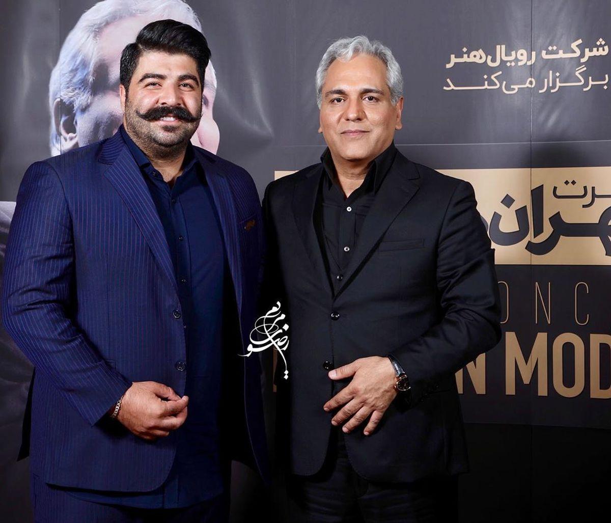 مهران مدیری بهنام بانی را با خاک یکسان کرد! +فیلم طنز