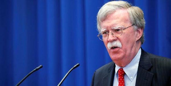 تهدید جدید بولتون علیه ایران