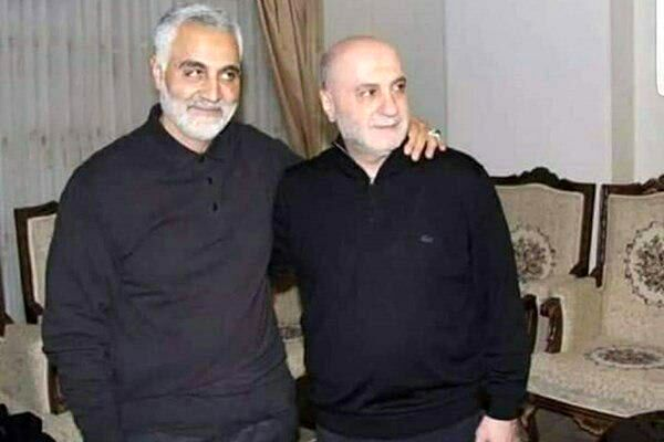 آخرین عکس سردار سلیمانی و پیام علی فلاحیان