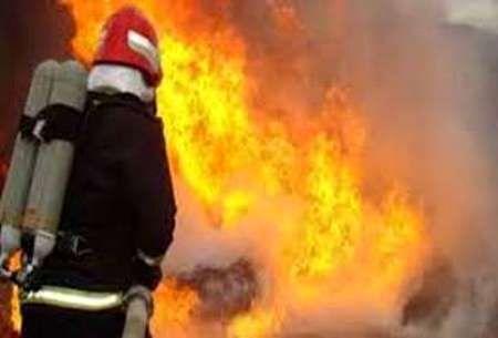 آتش سوزی کارخانه لاستیک بارز کرمان مهار شد