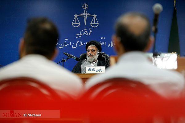 گزارش تصویری/  اولین جلسه دادگاه سلطان سکه و همدستانش