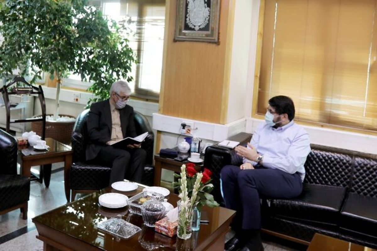 وزیر ورزش با بذرپاش دیدار کرد