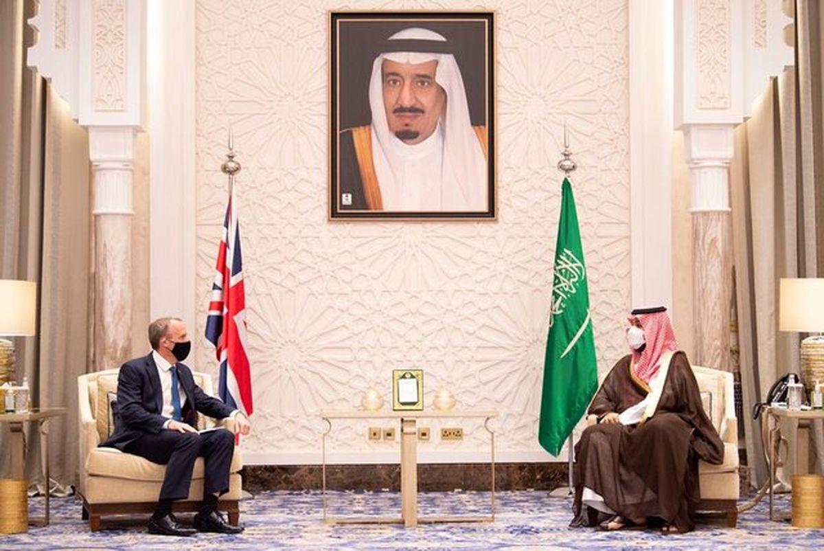 گفتوگوی بن سلمان و وزیر خارجه انگلیس درباره ایران
