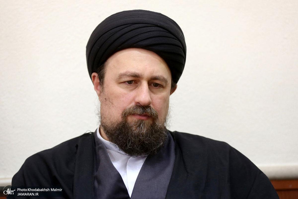 پیام تسلیت سید حسن خمینی برای درگذشت استاد مشهور علم سیاست