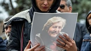 گزارش تصویری؛تشییع پیکر «تورج شعبانخانی»