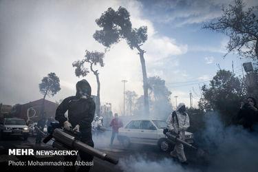 عملیات ضدعفونی شهرها