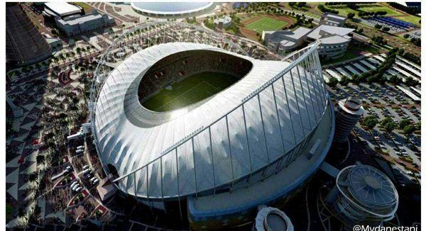 کولرهای ورزشگاه خلیفه قطر برای جام جهانی 2020