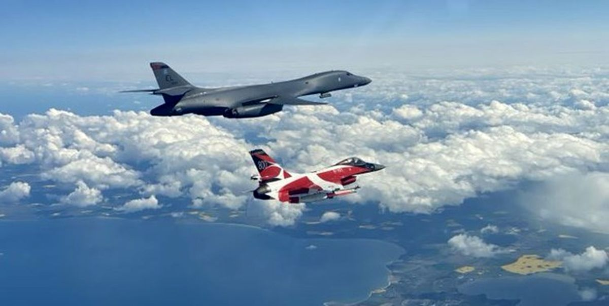 تمرین حمله به روسیه توسط هواپیماهای ناتو