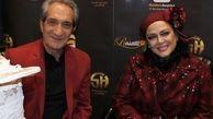 بازیگر «خانه به دوش» در جشن تولد بهاره رهنما /عکس