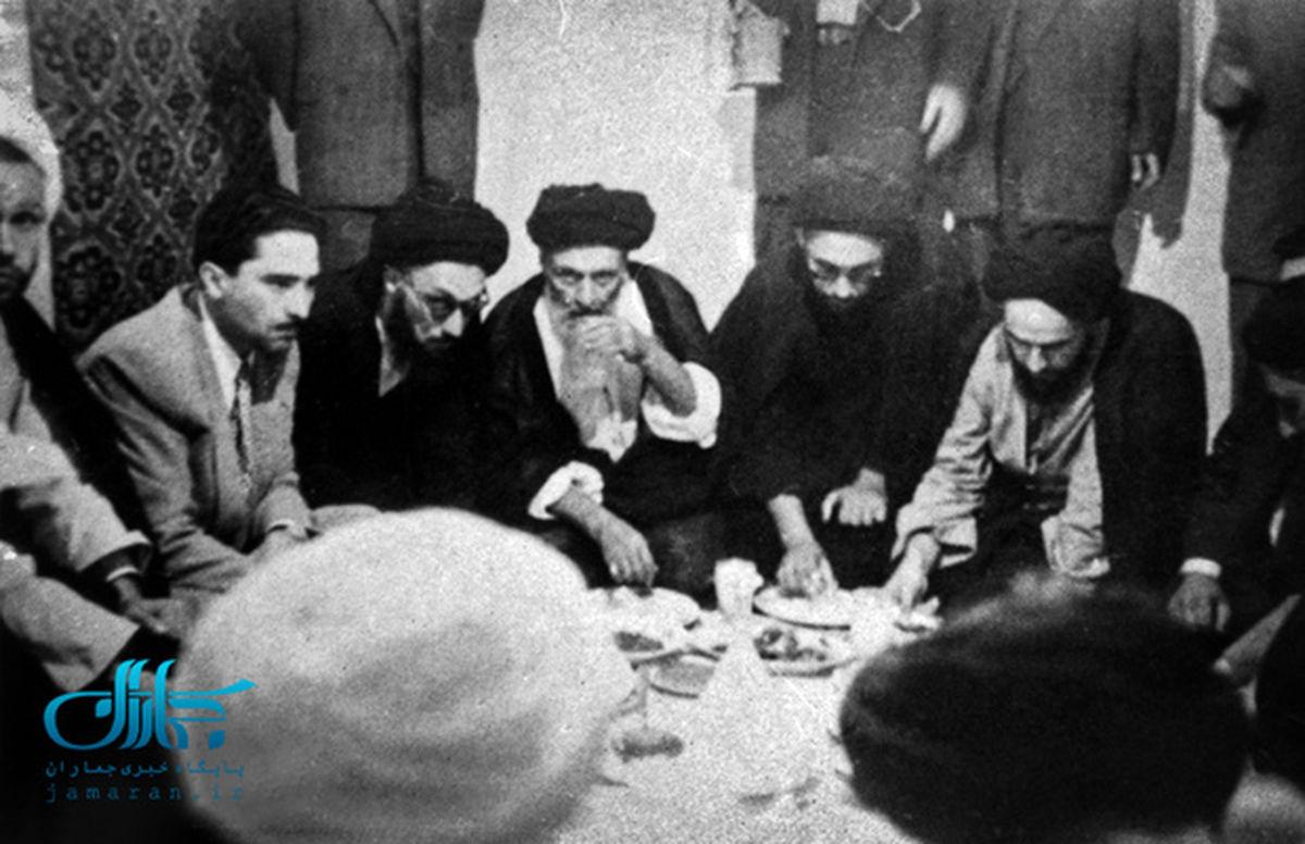 داستان یک عکس از امام (ره) و آیت الله کاشانی