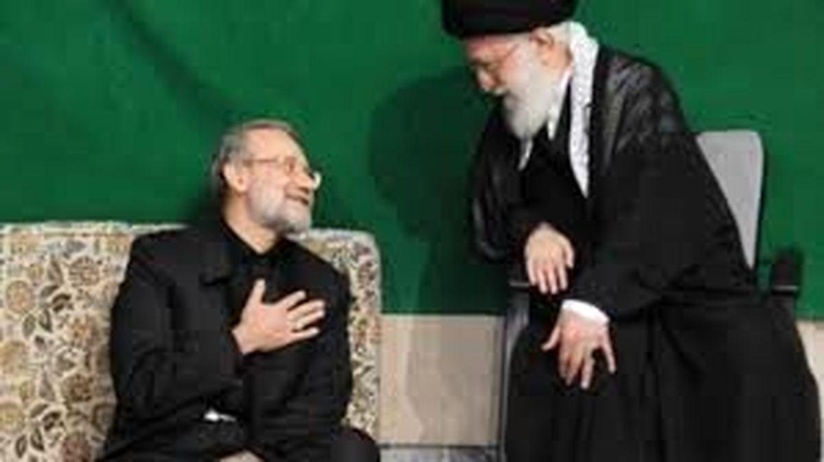ادعای دیدار و گفتگوی لاریجانی با رهبری برای حضور در انتخابات ۱۴۰۰