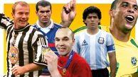 ببینید ۱۰۱ بازیکن برتر جهان در ۲۵ سال گذشته (سری اول)