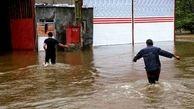 بارش 10ساعته و بی وقفه باران در کهنوج کرمان