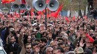 """پیکر مطهر شهید """"خیرالله صمدی"""" در زنجان تشییع و خاکسپاری شد"""
