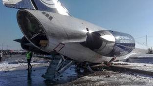 گزارش تصویری از حادثه هوایی پرواز کاسپین در ماهشهر