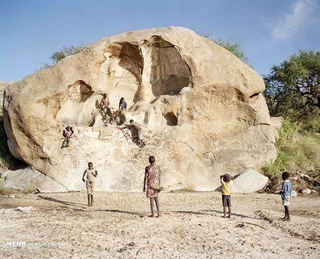 گزارش تصویری/ آخرین قبیله شکارچی در تانزانیا