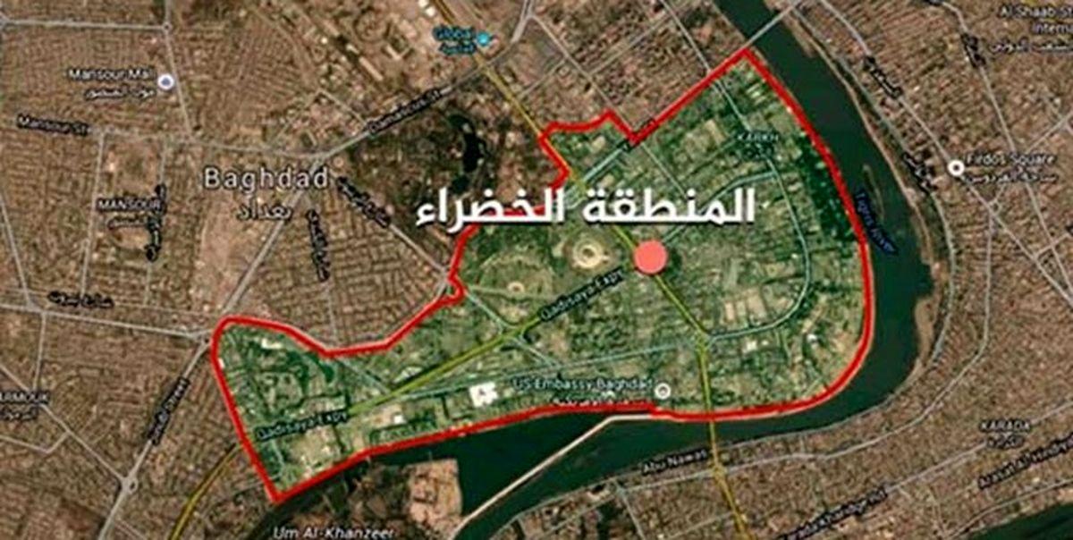 شنیده شدن صدای انفجار در اطراف سفارت آمریکا در بغداد