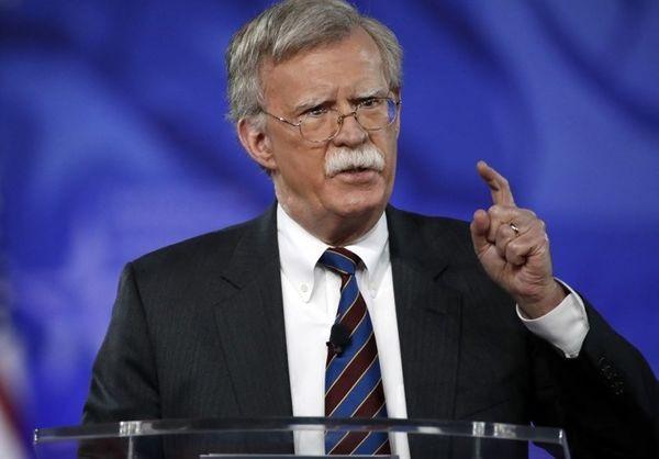 جان بولتون: هدف ما تغییر نظام ایران نیست