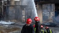 آتش سوزی انبار الکل؛ ۵ آتش نشان مصدوم شدند