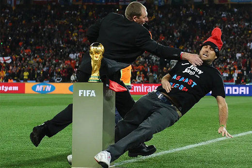 فیلم/ عجیبترین جیمیجامپهای فوتبال جهان