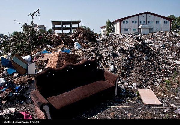 زبالههای شهر تهران 1400 تن کم شده است